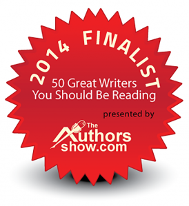 """""""50 Great Writers You Should Be Reading"""" badge"""